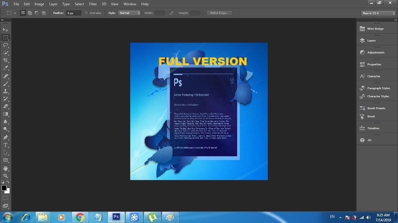 Adobe photoshop cs6 full download getintopc