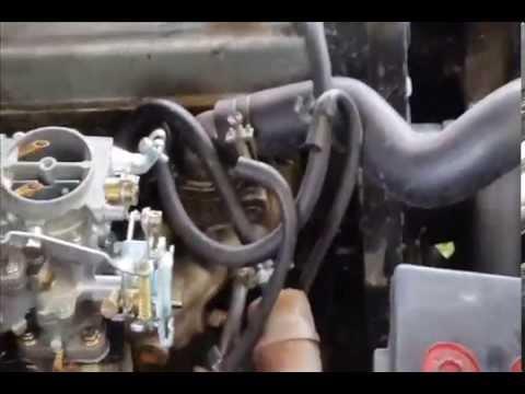 Adaptacin De Carburador A Chevrolet Luv 2300 Youtube