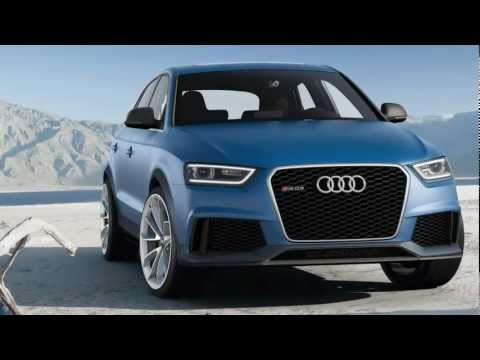 Audi RS Q3 Concept 2012 Exterior And Interior Photos