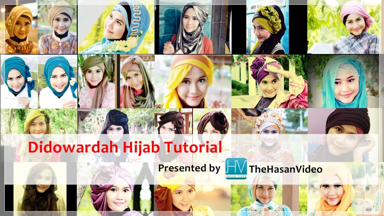 Introduction To Hijab Tutorials By Didowardah YouTube YouTube