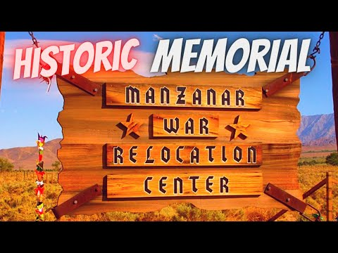 RV Travel...Manzanar National Historic Site...Japanese Internment Camp...US 395....RVerTV