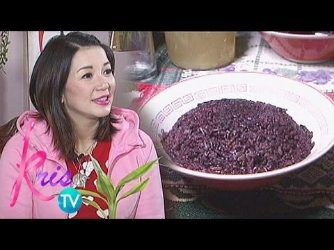 Kris TV: Why Kris eats black rice?