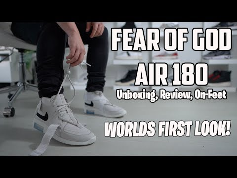 Fear of God Nike Air 180 Review & On Feet