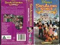 Sing Along Songs - Disneyland Fun (1992, UK VHS)