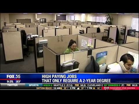 High Paying Jobs That Only Require a 2-Year Degree
