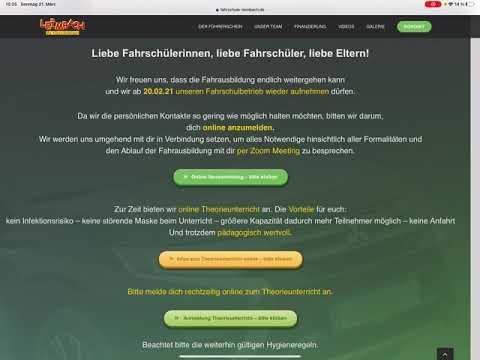 Fahrschule Leimbach Online Anmeldung