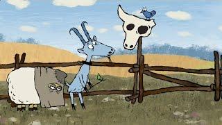 Гора самоцветов - Про барана и козла (About a ram and a goat) Русская сказка