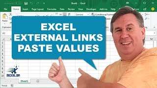 Learn Excel - Paste Values for External Links - Podcast 2070