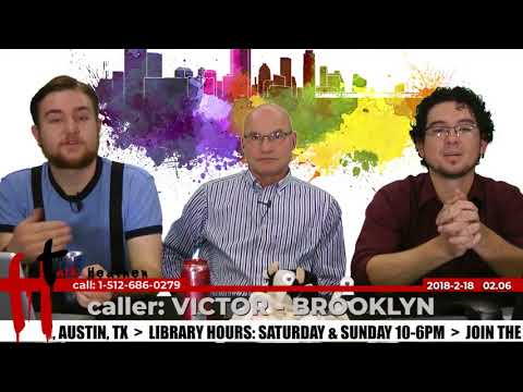 Atheists Base Claims on Same Amount of Evidence as Theists | Victor - Brooklyn | Talk Heathen 02.06