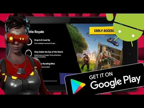 FORTNITE MOBILE - FORTNITE ANDROID FOUND IN GOOGLE PLAY STORE !!