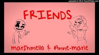 Marshmello  Anne-Marie - FRIENDS (Music  OFFICIAL) FRIENDZONE ANTHEM Resimi