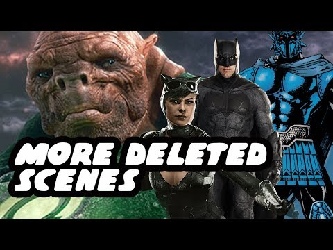 Justice League Green Lantern Batman And Old Gods Deleted Scenes Plus Catwoman Appearance Easter Egg
