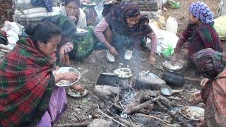 the life || village life || nomadic life || himalayan life ||