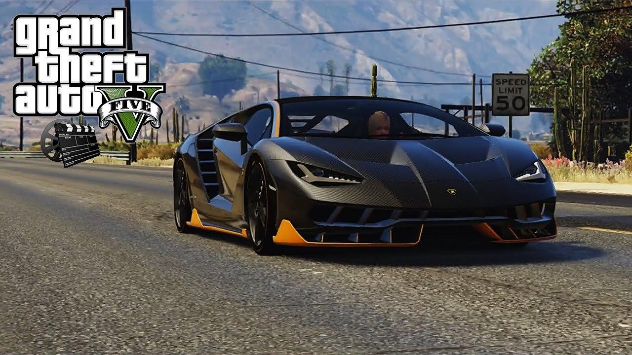 Gta 5 Mod 2017 Lamborghini Centenario Lp 770 4 Youtube