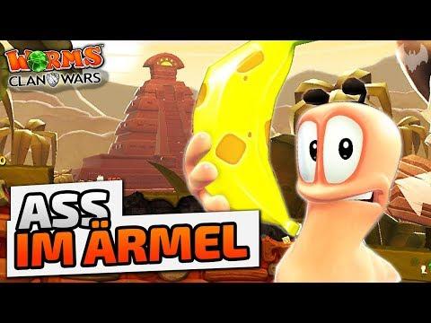 Ass Im Ärmel - ♠ Worms: Clan Wars ♠ - Deutsch German - Dhalucard