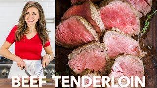 Roasted Beef Tenderloin  Recipe - Natasha&#39s Kitchen
