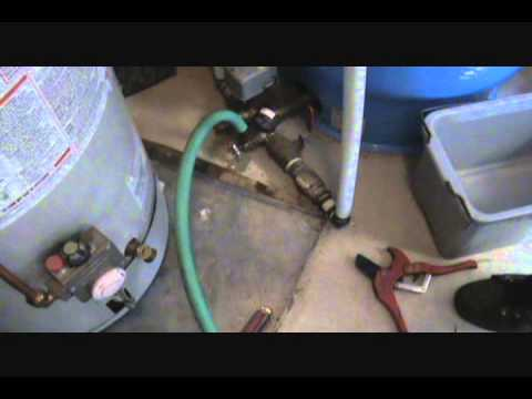 whole house water filter installation -