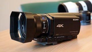 Sony HDR AX 100E video kamera. Pirmasis įspūdis. © Poryt.lt(Poryt.lt komandos narys Edmondas Babenskas pristato naują Sony firmos video kamerą - HDR AX 100E. Ši vaizdo kamera nėra didelė, yra labai patogi laikyti ..., 2014-12-01T08:11:28.000Z)