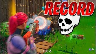 RECORD DE KILLS! Fortnite: Battle Royale (Mi Mejor partida)