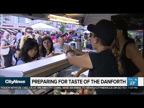 Preparing for Taste of the Danforth in wake of shooting