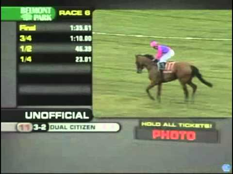 Dual Citizen Belmont 9/16/2010 - Race 6