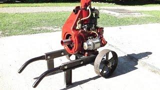 J.A.P Model 3 Restoration - Part 9 - Steel barrow trolley