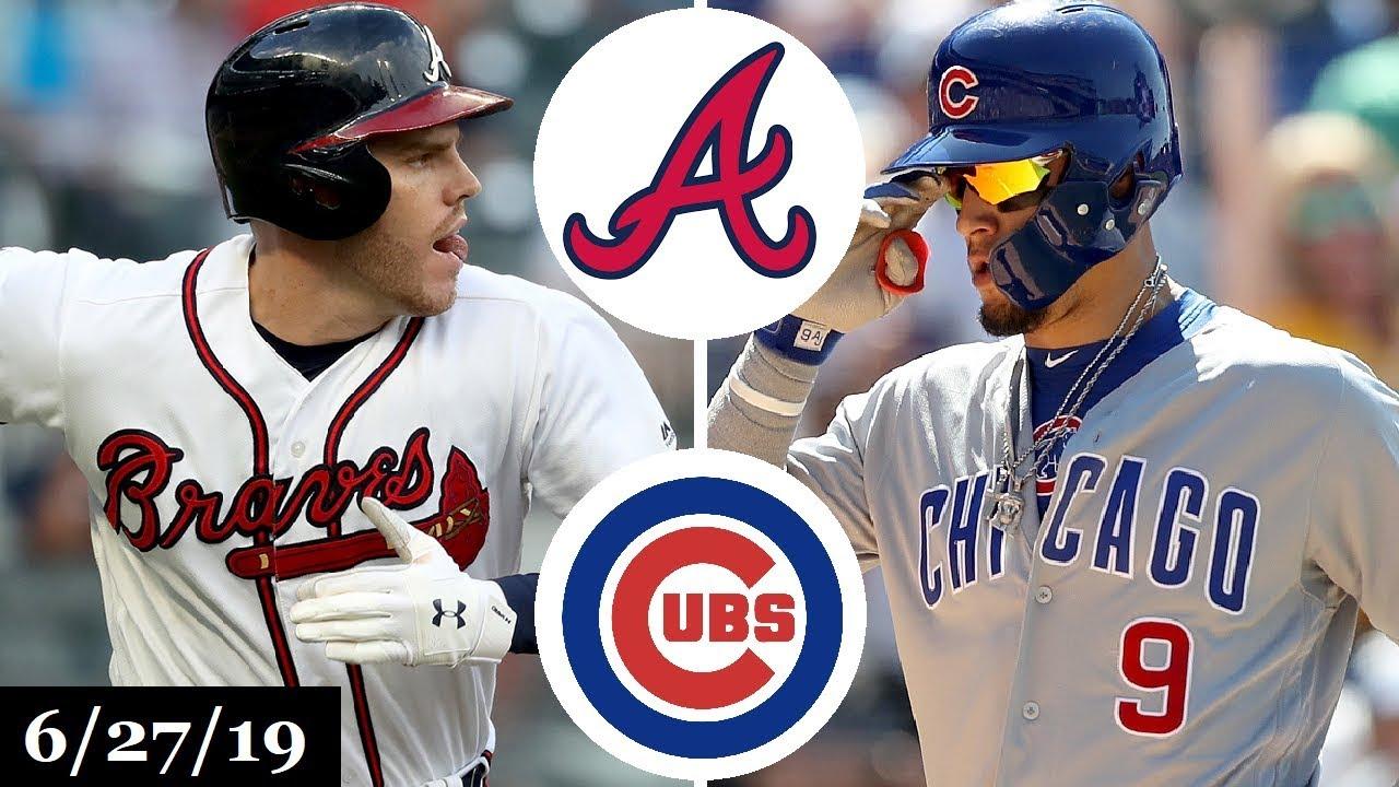 Atlanta Braves Vs Chicago Cubs Full Game Highlights