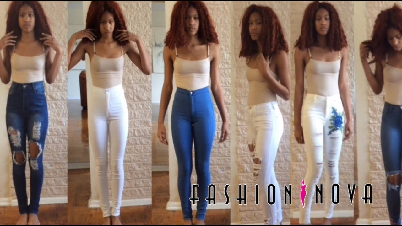 25b65aa4f0a Fall Haul 2017 How does fashion nova fit tall slim girls?Fashion Nova&Jeans  haul
