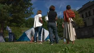 Strasbourg : suspicion d'un cas de tuberculose dans un camp de réfugiés