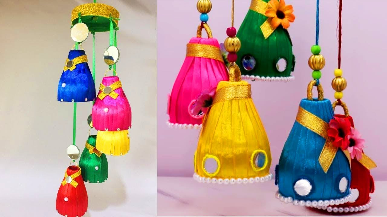 How To Make Wind Chime With Recycled Materials Simple Craft Idea