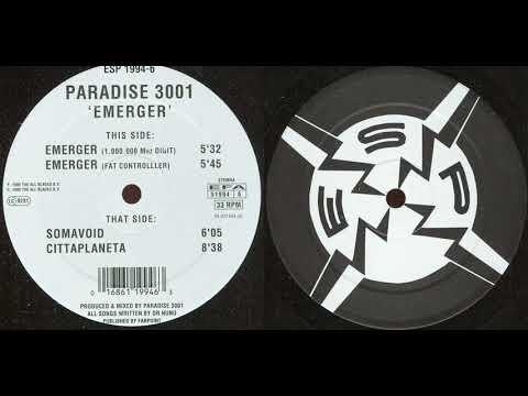 Paradise 3001 - Emerger (1.000.000 Mhz Digit) (1995)