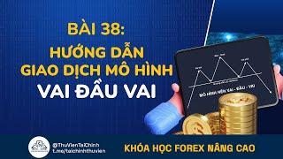 Bài 38. Hướng Dẫn Giao Dịch Forex Với Mô Hình Vai Đầu Vai | Đầu Tư Forex Nâng Cao | Học Forex Online