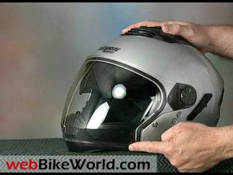 Nolan N43 Air Motorcycle Helmet Youtube