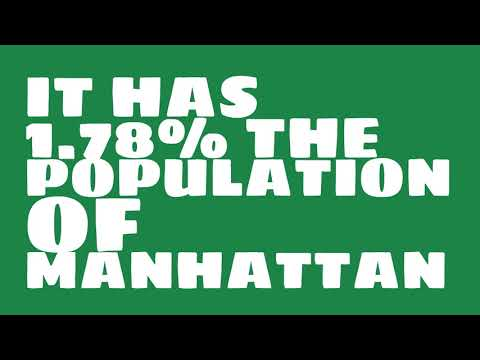 How does the population of Lawrenceville, GA compare to Manhattan?
