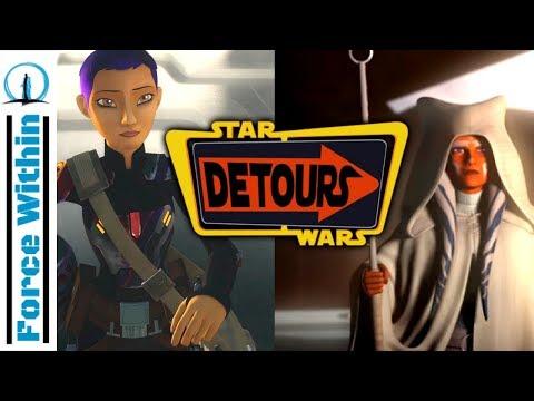 2nd Animation Series Not Ahsoka and Sabine? New Star Wars Animation Series Detours thumbnail