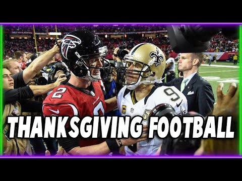IT'S TIME FOR THANKSGIVING NFL FOOTBALL AND ALL ITS TRADITIONS