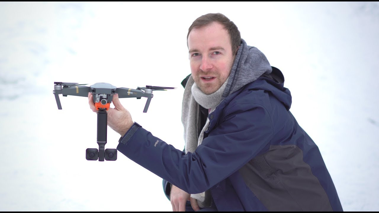 Vuze XR on a Mavic Pro - will it fly?