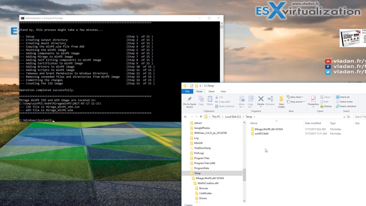 Create VMware Mirage Bootable USB Stick | ESX Virtualization
