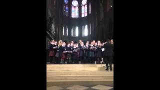 Fettes College Choir Tour 2015 - I am the Gentle Light - Notre Dame Cathedral