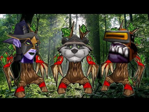 Warcraft 3 - Triple Night Elf, Triple Hero (4v4 RT #116)