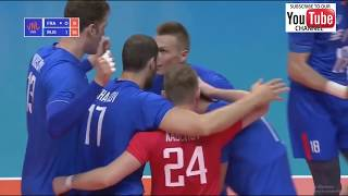 Russia vs France GOLD MEDAL MATCH volleyball nations league 2018  M FINAL