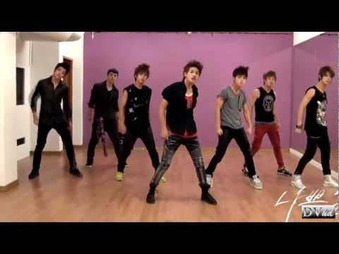 100% - Bad Boy (dance practice 2) DVhd