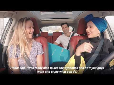 Travel Carpool with Claire, Luke and Haifa