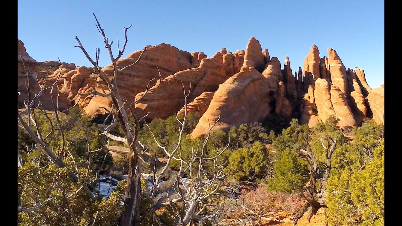 Devil S Garden Arches National Park Primitive Trail