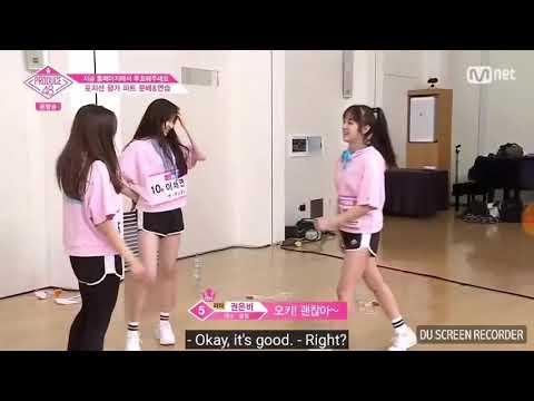 [ENGSUB]#Produce48 Sorry Not Sorry Team cut part 2