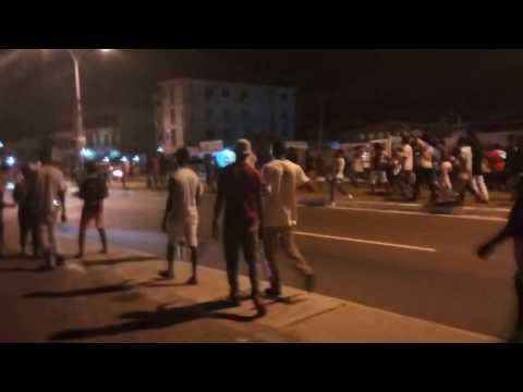 shtata attacked by pono fans at La trade fair