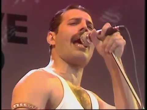 Queen    1985 Bohemian Rhapsody   Radio Ga Ga   Hammer To Fall Live Aid