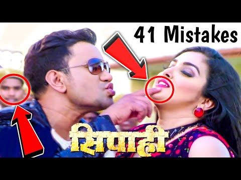 SIPAHI - 41 Movie Mistakes - Superhit...