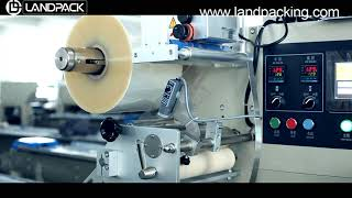 small bread packing machine | flow wrap machine