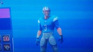 new Fortnite Football Skin Gameplay